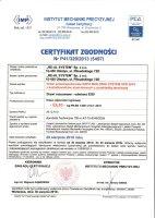 Certyfikat nr 5497